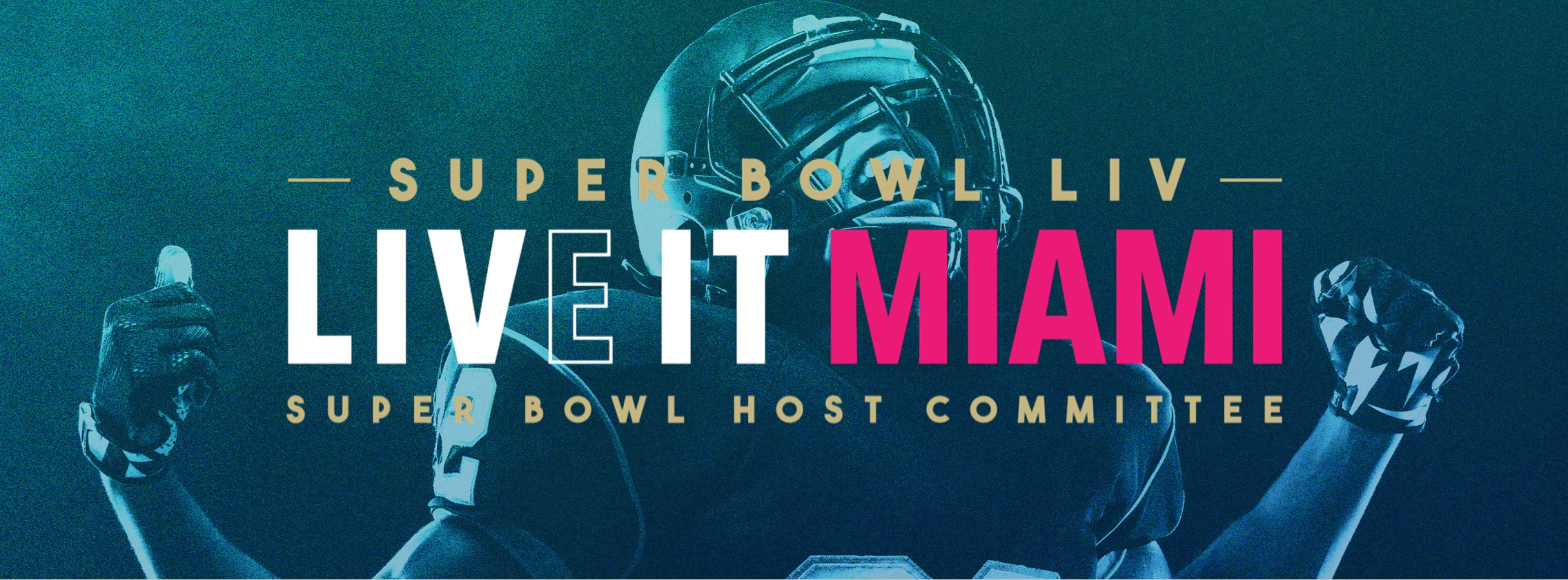 Photo from https://www.miasbliv.com/ Super Bowl LIV Live It Miami Super Boal Host Committee
