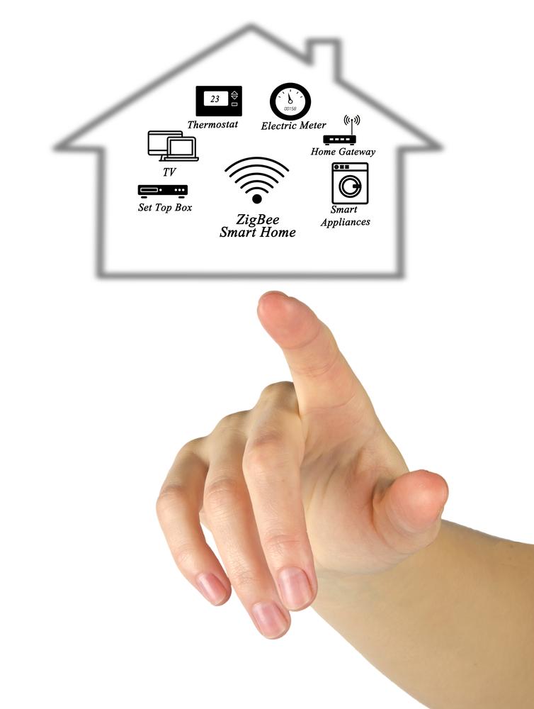Shutterstock_465926588 ZigBee Smart Home