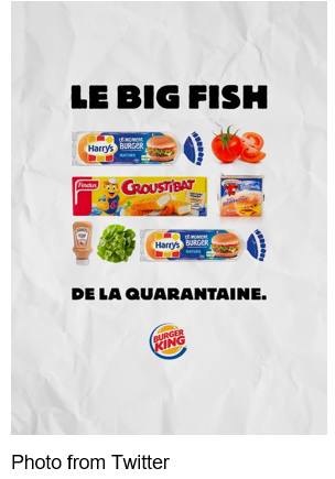 Burger King France Encourages Social Media Followers To Cook BK Favorites At Home
