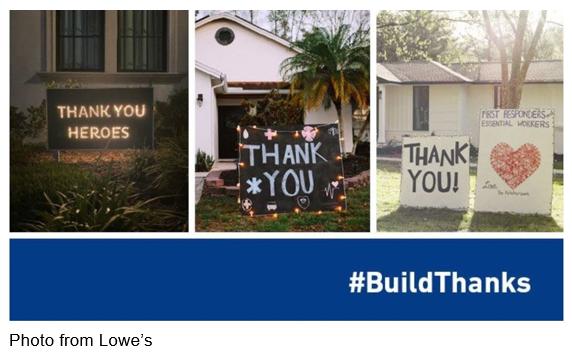 Lowe's #BuildThanks