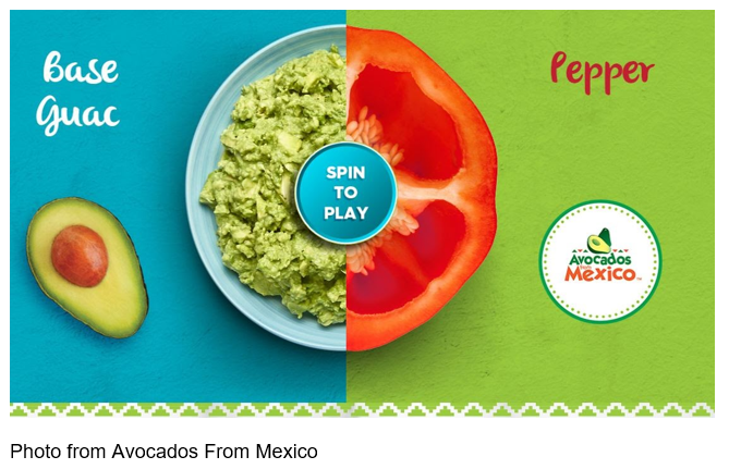 Avocados From Mexico Gamifies Guacamole