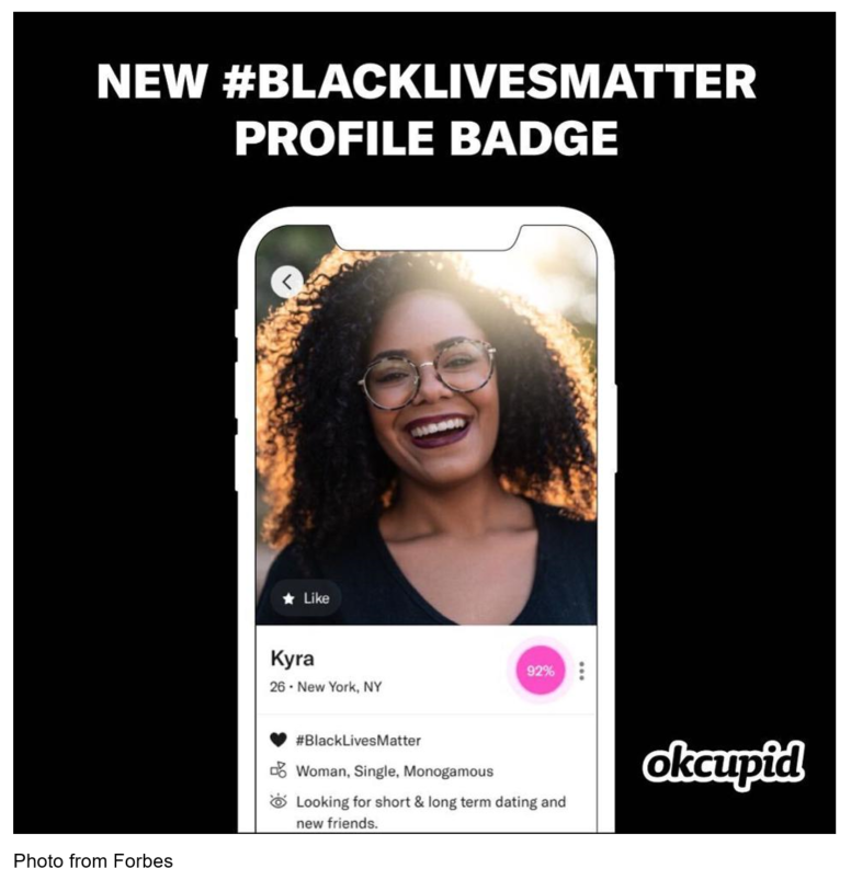 OkCupid #BlackLivesMatter