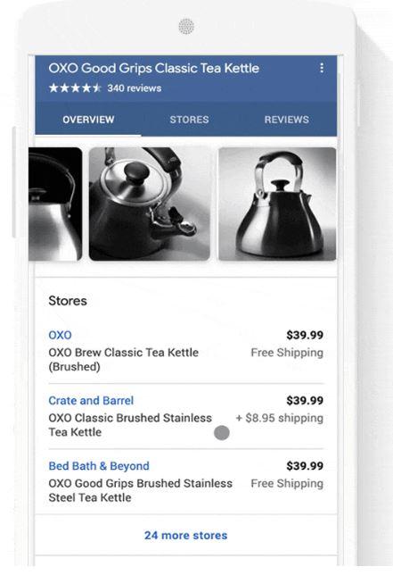 Google search free merchants
