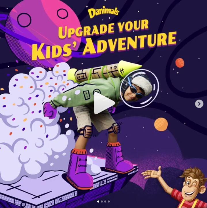 danimals adventure campaign