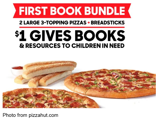 International Literacy Day Project Literacy Pizza Hut
