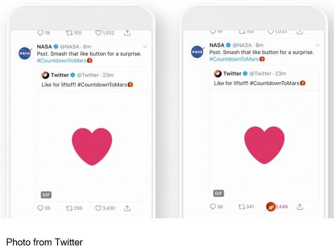 NASA tweet