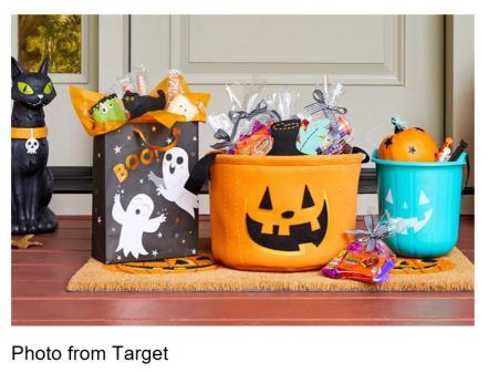 target halloween boo bags
