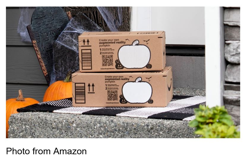 amazon packages halloween
