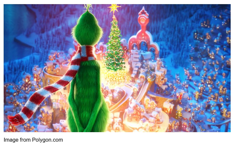grinch whoville polygon