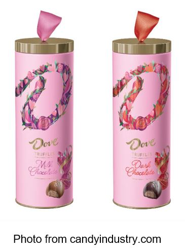 Dove announced it's Truffle Gift Tubes. The limited-time Dove Truffle Gift Tubes