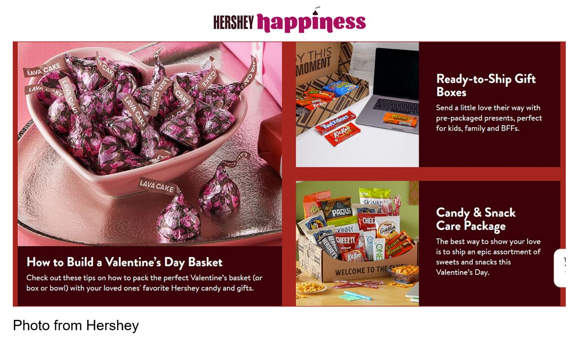 Hershey's Leverages Microsite