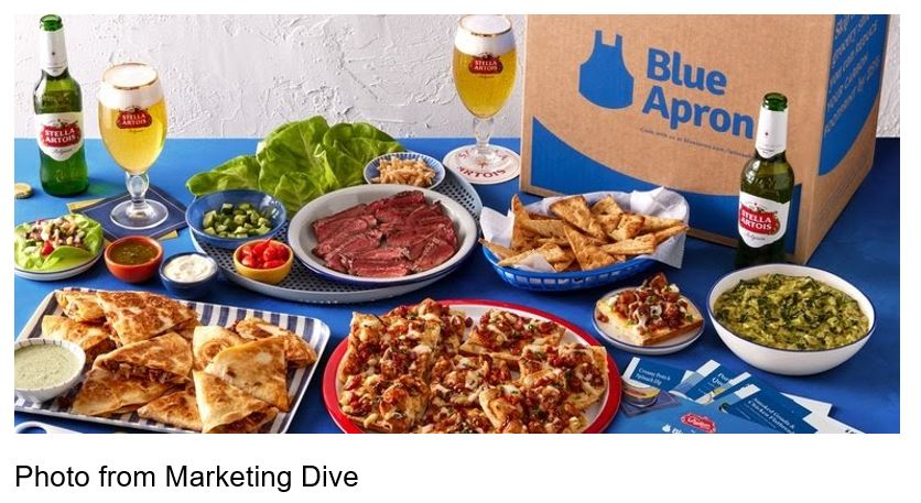 blue apron super bowl