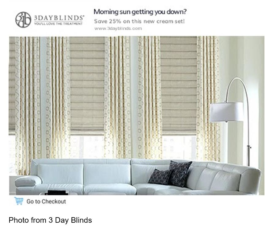 3 day blinds ad