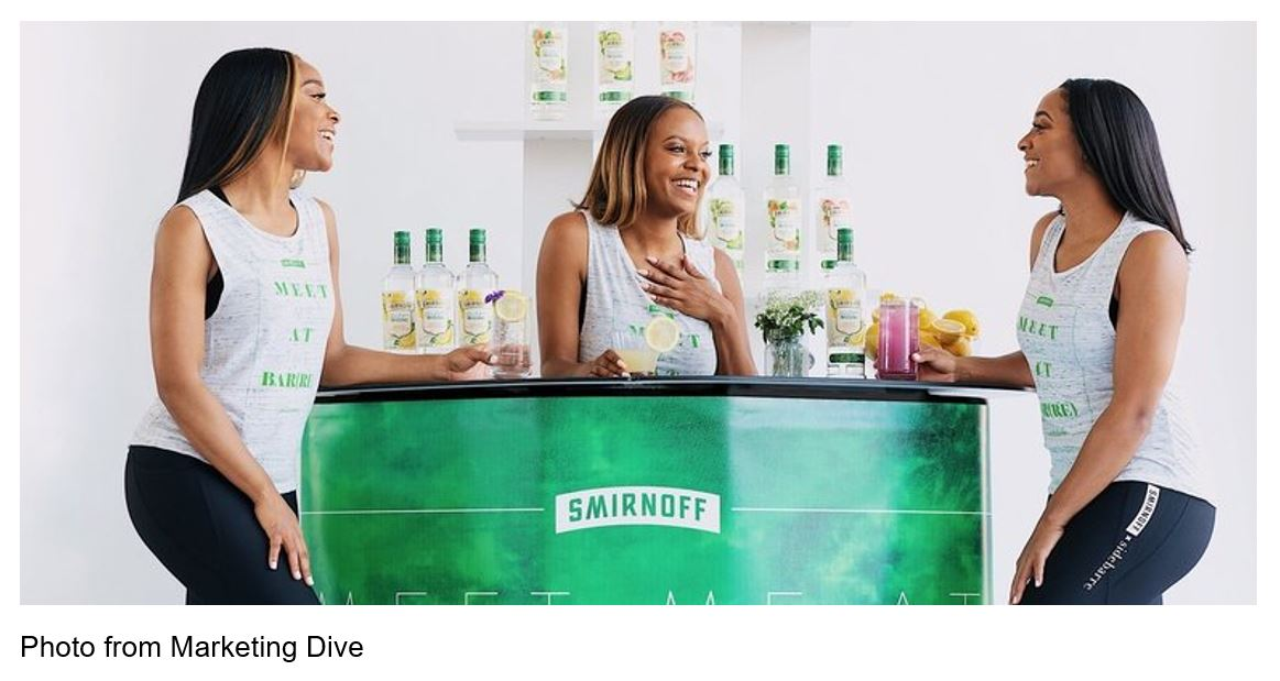 Smirnoff partnered with SideBarre