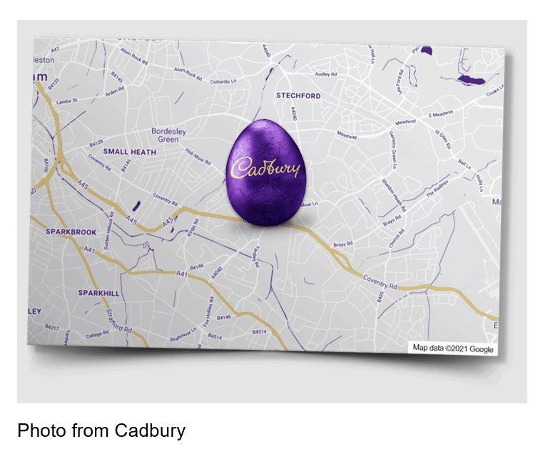 cadbury virtual egg hunt
