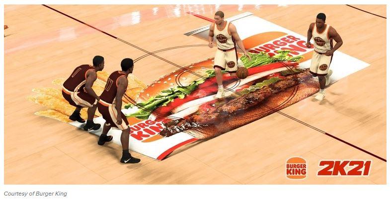 Burger King nba