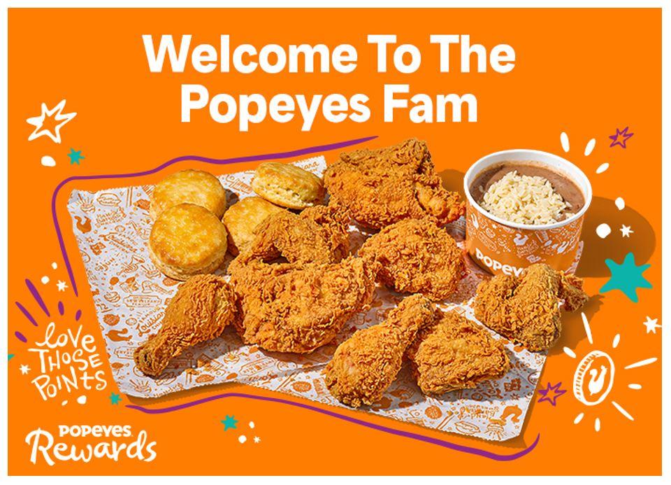 popeyes loyalty program