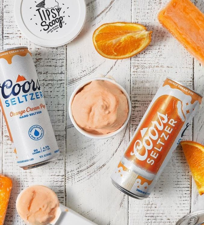 Coors Seltzer Partners With Tipsy Scoop
