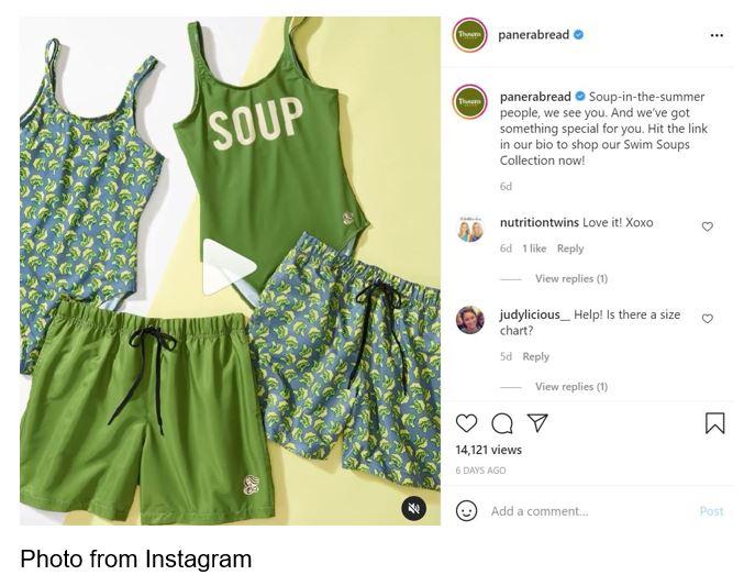 panera soup apparel