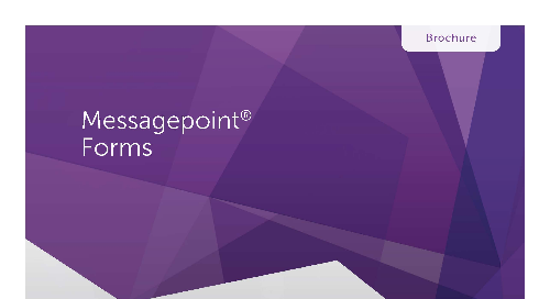 Messagepoint Forms