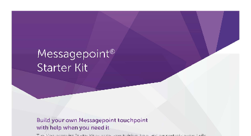 Messagepoint Starter Kit