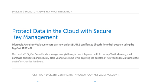 Microsoft Azure Key Vault Integration