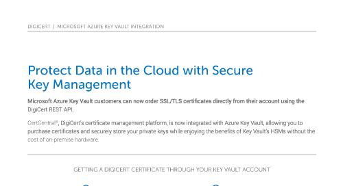 微软Azure关键库集成