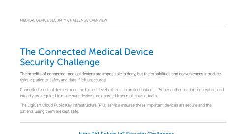 The Connected Medical Device Security Challenge