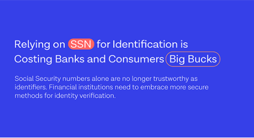 SSNs: an outdated approach to identity verification, is your face the future?