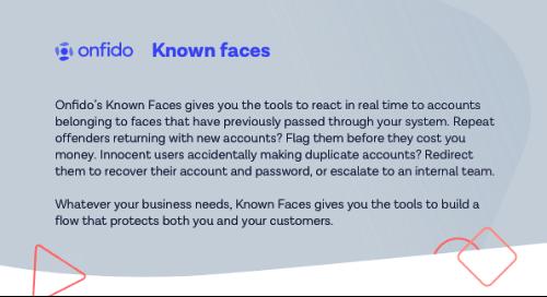 Datasheet: Known Faces