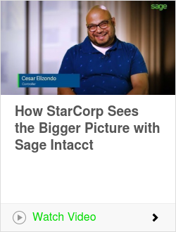 How StarCorp Sees the Bigger Picture with Sage Intacct