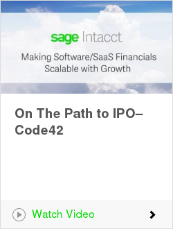 On The Path to IPO–Code42