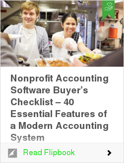 Nonprofit Accounting Software Buyer's Checklist – 40 Essential Features of a Modern Accounting System