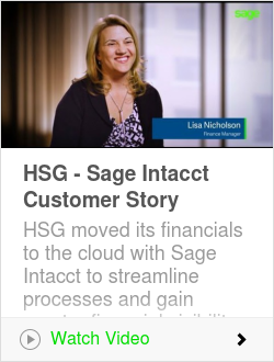 HSG - Sage Intacct Customer Story