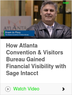 How Atlanta Convention & Visitors Bureau Gained Financial Visibility with Sage Intacct