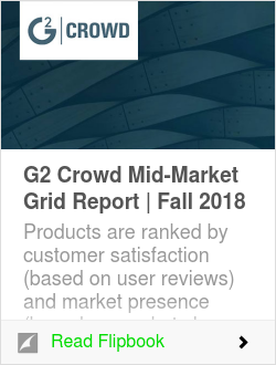 G2 Crowd Mid-Market Grid Report | Fall 2018