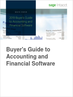 Buyer's Guide to Accounting and Financial Software