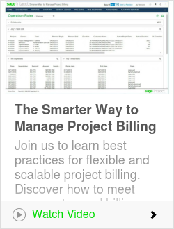 The Smarter Way to Manage Project Billing