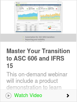 Master Your Transition to ASC 606 and IFRS 15