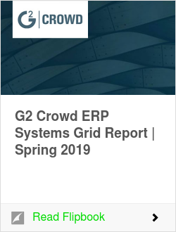 G2 Crowd ERP Systems Grid Report | Spring 2019
