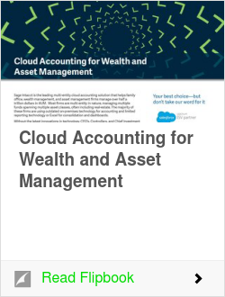 Cloud Accounting for Wealth and Asset Management