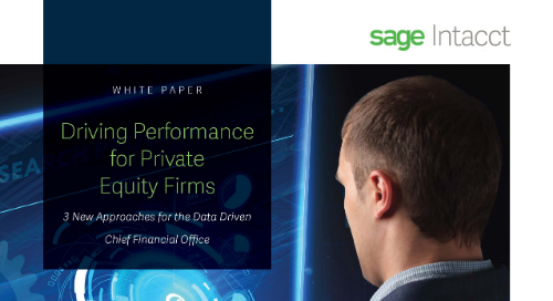 Driving Performance for Private Equity Firms: 3 New Approaches for the Data Driven Chief Financial Officer