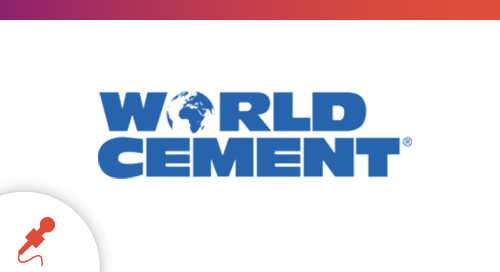 """Digitizing Data,"" Featured in World Cement"