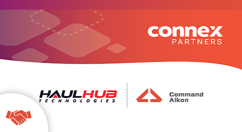 HaulHub CONNEX Partnership Press Release