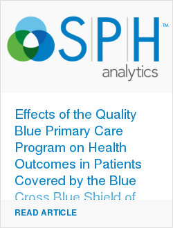 Effects of the Quality Blue Primary Care Program on Health Outcomes in Patients Covered by the Blue Cross Blue Shield of Louisiana