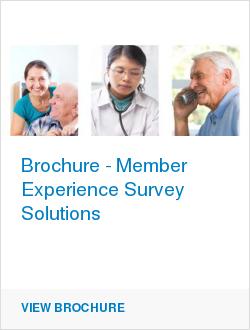 Brochure - Member Experience Survey Solutions