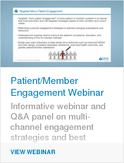 Patient/Member Engagement Webinar