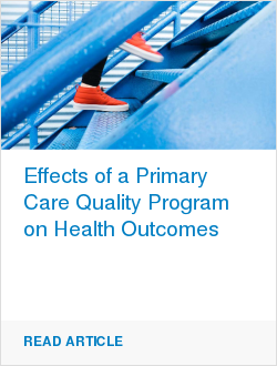Effects of a Primary Care Quality Program on Health Outcomes