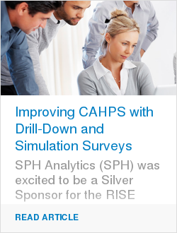 Improving CAHPS with Drill-Down and Simulation Surveys