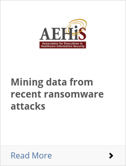 Mining data from recent ransomware attacks